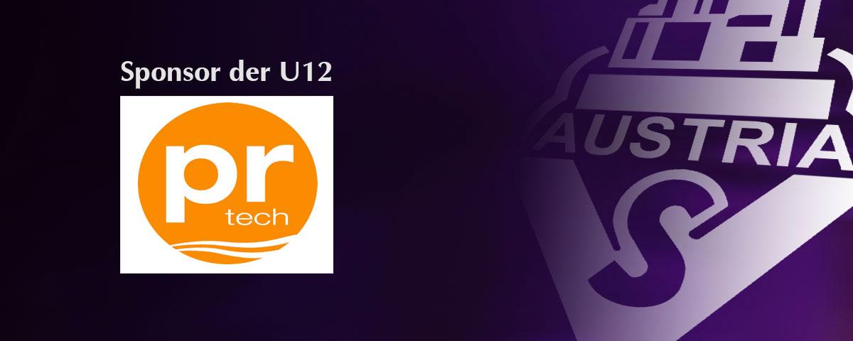 pr tech – Sponsor der U12