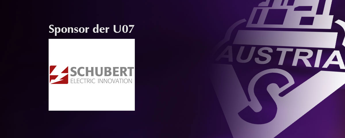 Schubert – Sponsor der U07