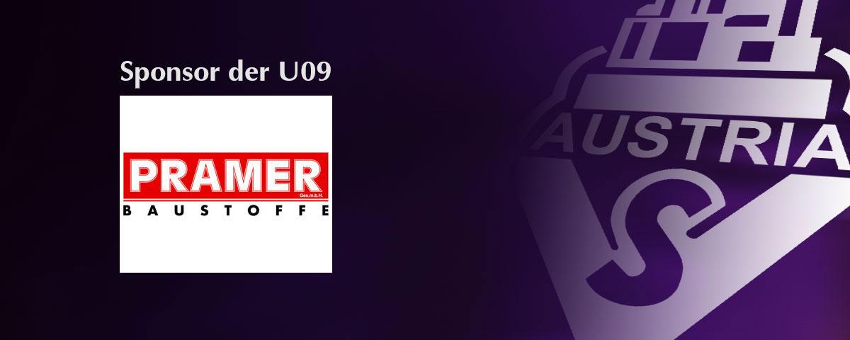 PRAMER Baustoffe – Sponsor der U09