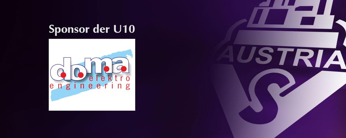 doma – Sponsor der U10