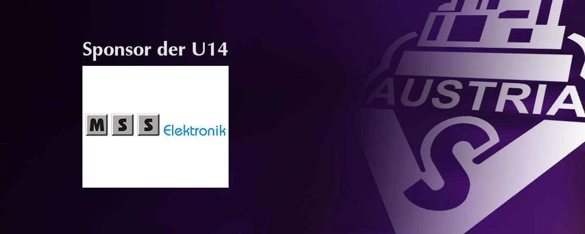 MSS Elektronik – Sponsor der U14