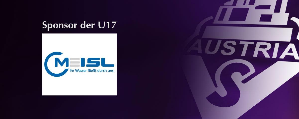 Meisl – Sponsor der U17