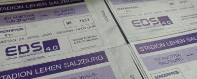 Tickets für das virtuelle Heimspiel