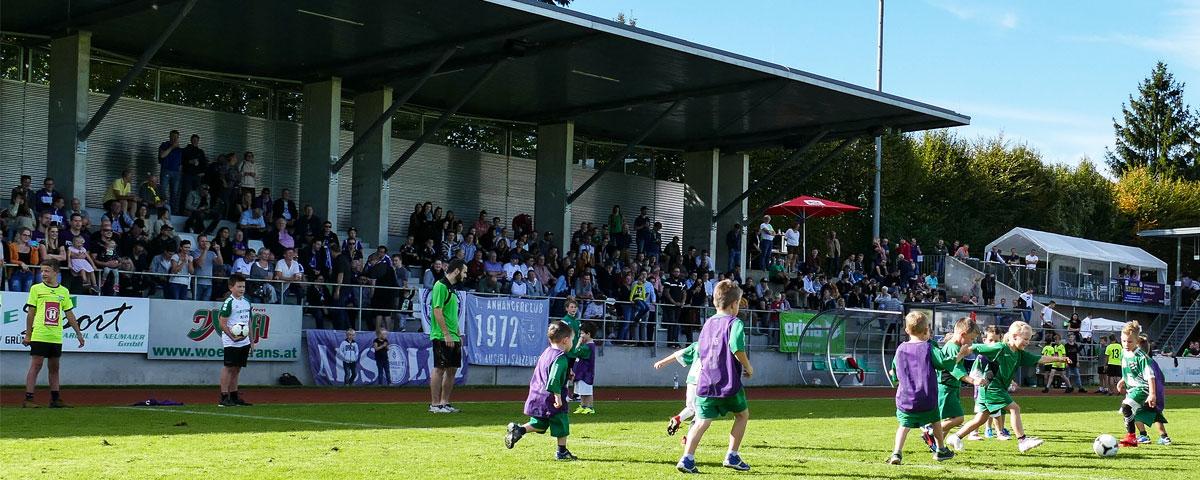 Stadion in Wals-Grünau